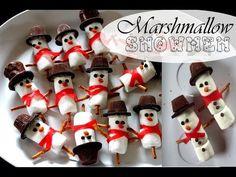 3 DIY Christmas Treats! Reindeer Marshmallow Pops, Santa Brownies, & Present Chocolates! - YouTube