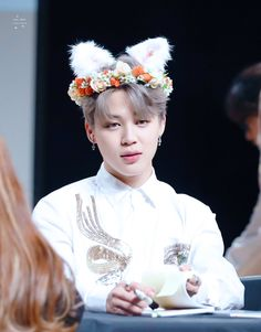 BTS / Jimin / Fansign / Flower Crown