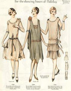 Weldon's Ladies' Journal, August 1927 repinned by www.lecastingparisien.com