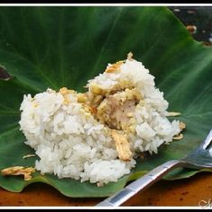 Xoi khuc - another Vietnamese dishes made from sticky rice