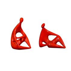 View this item and discover similar for sale at - Zsolnay Red Figurines designed by Janos Torok 2 available Forward leaning- x 4 x & Reclined x x Glam Bedroom, Mid Century Modern Design, Ceramic Pottery, Hungary, Mid-century Modern, Entertaining, Glass, Shop, Style