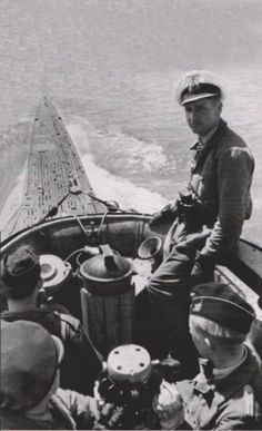 U boat in the South Atlantic, before the introduction of Very Long Range (VLR) aircraft they could operate with impunity on the surface, submerging only to approach their victims - if they could find them. Military Photos, Military History, German Submarines, Germany Ww2, Merchant Navy, Man Of War, History Online, Armada, Navy Ships