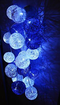 Ręcznie robione cotton balls czyli o tym, że astmatycy nie powinni dmuchać małych baloników :P