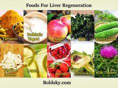 Foods for #Liver regeneration