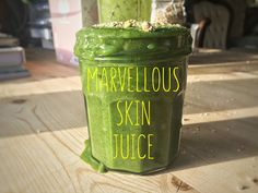 MARVELLOUS SKIN JUICE Good Smoothies, Juice Smoothie, Good Morning People, Her Smile, Juices, About Me Blog, Good Things, Mugs, Recipes