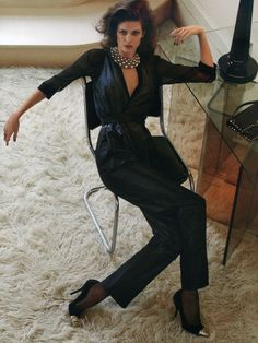 Kendra Spears for Vogue Germany October 2012