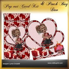 Popout Card & Pinch Bag Duo - Sweetie