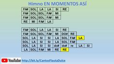 Canto EN MOMENTOS ASÍ - Flauta dulce Periodic Table, Flute, Funny Memes, Sweets, Musica, Periodic Table Chart, Periotic Table
