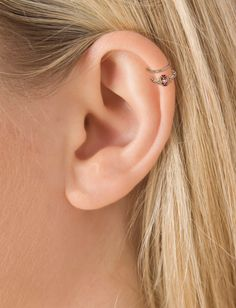 Helix Piercing Styles Image Model Daith Migraine Diath