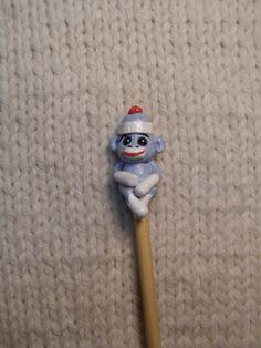 Sock monkey crochet hook!