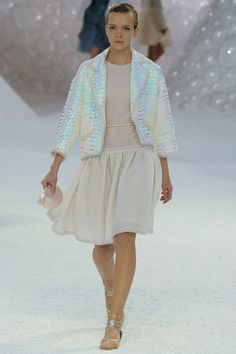 have never been a big Chanel fan, but the sequins on this jacket reflect light like nothing I've ever seen!