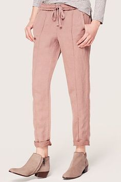 Secret Sweatpants In Disguise As Actual Pants — Remember those days when wearing sweats to places other than the gym was acceptable? Keep the dorm-to-class spirit alive with a pair of comfy-yet-sophisticated drapey, easy pants.Lou
