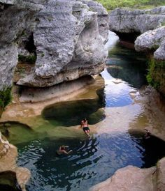 The Narrows   Located in Hills Country, Texas. The Narrows are a private conservatory, but tours are available here.