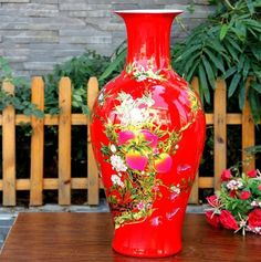 ceramic modern Countless fruits vase