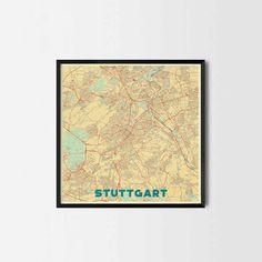 Stuttgart night SBahn map Maps Pinterest Stuttgart and City