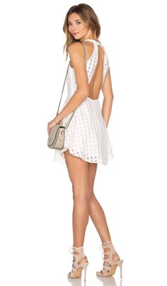 Lovers + Friends Terrace View Dress in Ivory | REVOLVE