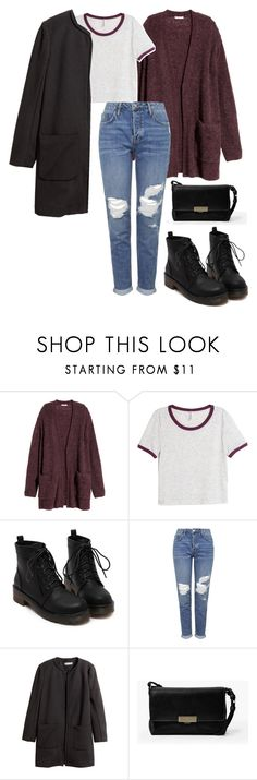 """Untitled #199"" by beatkaid ❤ liked on Polyvore featuring H&M, Topshop and MANGO"