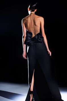 Gucci Spring 2013. The Sartorialist.  Anything that shows off a womans back is worth showing off..well..almost anything..
