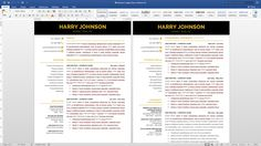 Modern Resume Template Instant Download     Pages  Cover