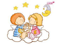 Wandtattoo Little Wingels Emily & Leon Cute Crafts, Charlie Brown, Winnie The Pooh, Baby Dolls, Disney Characters, Fictional Characters, Cross Stitch, Comics, Pattern