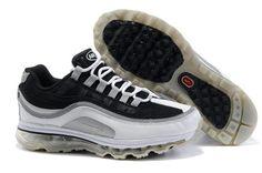 397292 001 Nike Air Max 24-7 Black Metallic Silver Dark Shadow Dark Grey AMFM0550
