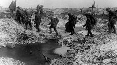 A scene from the Crimson Field WW1