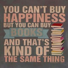 Books make me happy
