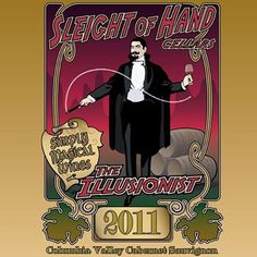 Experience magic in the making: Sleight of Hand Cellars at Shore Lodge. #ShoreLodgeWinemakers #SleightofHand