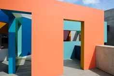The art was created for Turner Contemporary's Summer of Colour Festival, London.