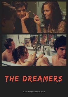 The Dreamers by Bernardo Bertolucci. Design by Elizangela Silva