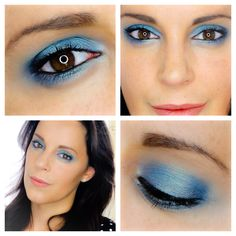 Maquillaje azul para ojos marrones  http://youtu.be/y5iFispnh-w Blue Makeup for brown eyes  http://youtu.be/a8anIoSXm0s