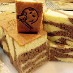 Cheese Chocolate Sponge Cake