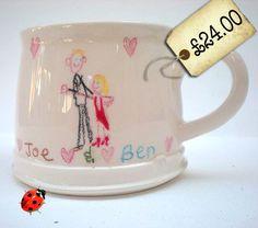 Your Drawing on a Mug