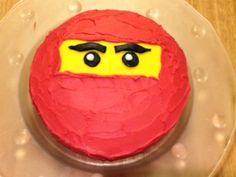 Very easy Ninjago cake. Took 15mins to decorate.