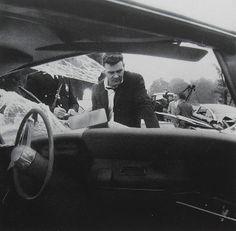 1962 Liberty Mutual Auto Insurace vintage photo advertisement car crash accident by Christian Montone, via Flickr