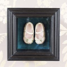 great keepsake frame lined in turquoise velvet. Cox & Cox