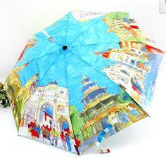 Fashion Umbrella mens women's Sun Rain umbrella occident style folding Parasol  #other #Fashion