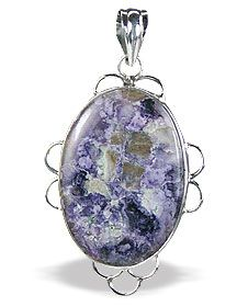 Tiffany Stone Pendant in Sterling Silver from Semiprecious.com
