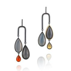 2016 EXHIBITOR OF THE DAY: @deptfordlucy will be bringing her colourful contemporary jewellery to #GoldsmithsFair in Week One, Stand 48 (Link in bio) #Jewellery #Jewelry #Gems #Silver #OxidisedSilver #Earrings #Handmade #Gold