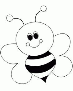 Arı Boyama Sayfası