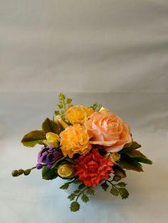 Cold Porcelain by Natasha Waldron Cold Porcelain, Floral Wreath, Wreaths, Home Decor, Floral Crown, Decoration Home, Door Wreaths, Room Decor, Deco Mesh Wreaths