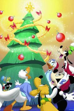 Christmas - Disney - Mickey & Minnie Mouse & Friends