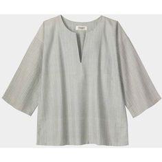 Toast Toast Aldreth Pyjama Top ($18) ❤ liked on Polyvore