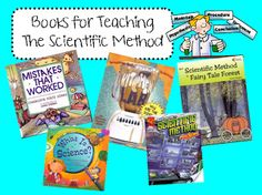 Books for Teaching The Scientific Method (from Ginger Snaps)