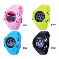 Fashion Children LED Watch Kids Jelly Sports Waterproof Outdoor Cartoon  Watch for Girls boys Rubber Digital Wristwatches Relojes 738e19e634ab