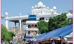 Anandpur Sahib, one of the holiest Sikh sites, was founded by Guru Tegh Bahadur. He lived in the Guru ka Mahal in the old quarter of the town. A museum dedicated to, and named after him, displays a collection of oil paintings depicting the trials and tribulations of his times.