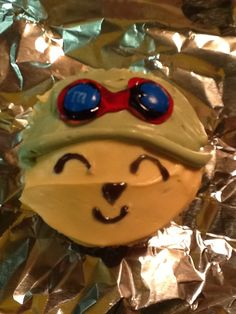 Teemo Cupcake from League of Legends