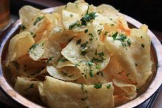 Finger Food Friday: Herbed Potato Chips