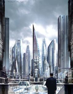fantastic world by Stephan Martiniere