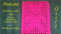 Te invito a mi taller donde aprenderás a tejer un hermoso punto filet ideal para mantas para bebés. Crochet Top, Chile, Youtube, Women, Videos, Lace Doilies, Bedspreads, Rolled Paper Flowers, Rolled Paper